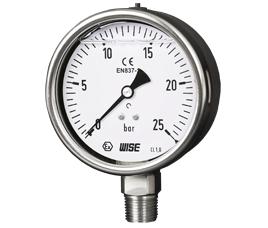 Đồng hồ áp suất Wise P258 - Wise Vietnam